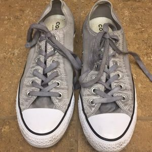 Unisex Converse Sneakers Gray Distressed